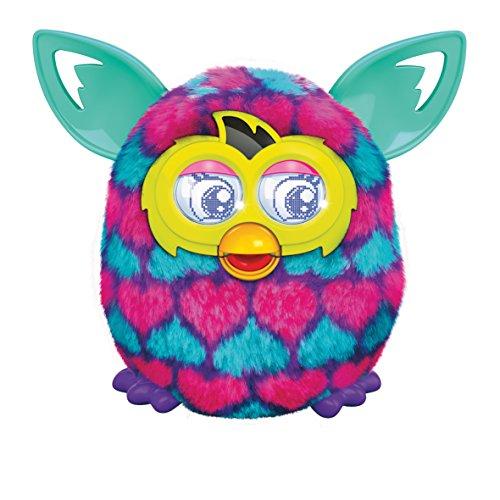 Furby - A64201010 - Peluche Interactive - Boom Sweet - Cœurs Rose Et Bleu