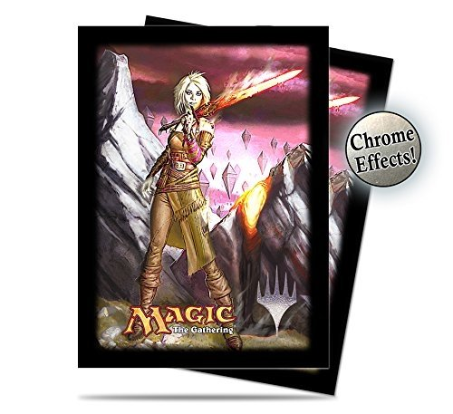 Magic The Gathering - 120 Commander Nahiri Deck Protector Sleeves V2 - UPR86196 - Ultra Pro