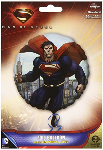 Superman Man of Steel Foil Balloon