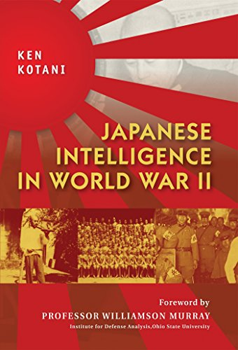 Japanese Intelligence in World War II (General Military)