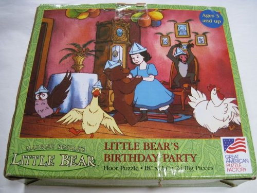 Cheap Great American Maurice Sendak's Little Bear Little Bear's Birthday Party Floor Puzzle (B002DLGPZS)