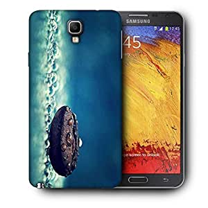 Snoogg Coffee Bean Drop Water Printed Protective Phone Back Case Cover For Samsung Galaxy NOTE 3 NEO / Note III
