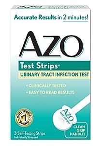 Begging Azo multiple test strips