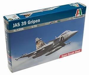 Amazon.com: JAS 39 Gripen Swedish Multi-Role Fighter 1/72 Italeri