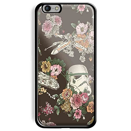 Botanic Wars Star Wars for Iphone and Samsung Galaxy (iPhone 6/iPhone 6s black)