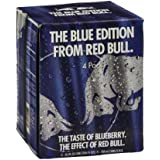 Red Bull The Blue Edition Energy Drink - 4 CT