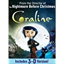 Coraline (Single-Disc Edition)[Anaglyph 3D]