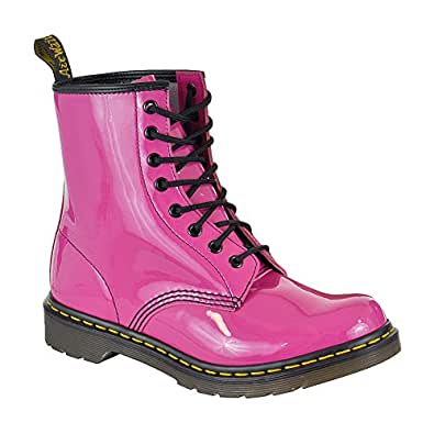dr martens 1460 pink patent leather womens