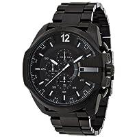 [ディーゼル]DIESEL 腕時計 TIMEFRAMES ブラックダイアル ブラックステンレスベルト DZ4283 【正規輸入品】