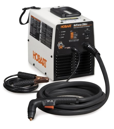 Images for Hobart Airforce 500534 250ci Light Weight Plasma Cutter with Air Compressor