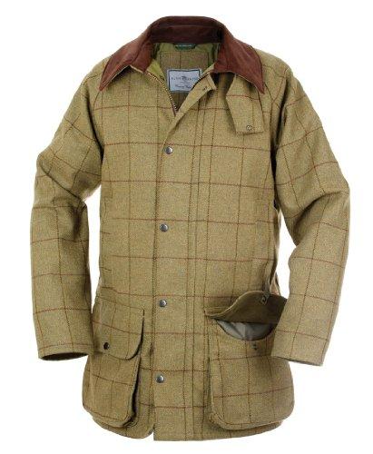 Alan Paine Rutland Gents Tweed Shooting Jacket Lichen Size (Medium, Lichen)