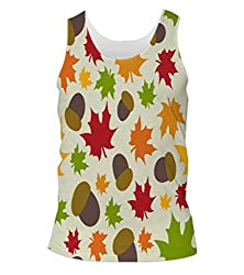 Snoogg Nuts Mens Casual Beach Fitness Vests Tank Tops Sleeveless T shirts