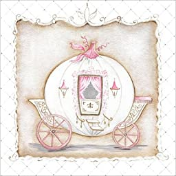 Little Princess Carriage I Canvas Art