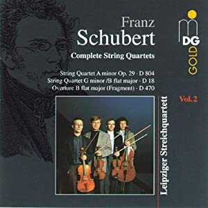 Schubert:  String Quartet No.