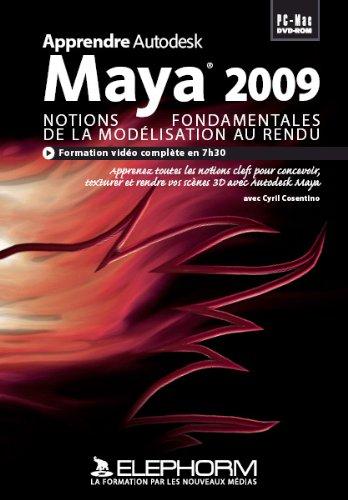 apprendre-autodesk-maya-2009-notions-fondamentales-de-la-modelisation-au-rendu-video-complete-en-7h3