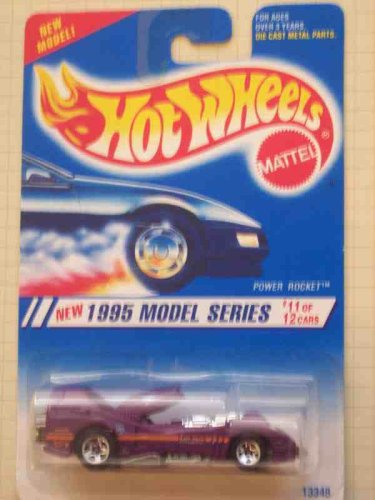 1995 -#11 Power Rocket 5-Spokes And Metal Base 1995 New Models Mint #351 - 1