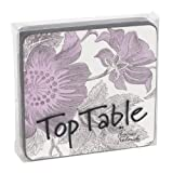 Top Table Begonia Coasters, Pack of 4