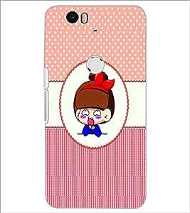 PrintDhaba Cartoon D-4454 Back Case Cover for HUAWEI NEXUS 6P (Multi-Coloured)