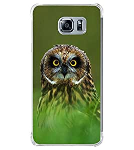 Owl 2D Hard Polycarbonate Designer Back Case Cover for Samsung Galaxy Note5 :: Samsung Galaxy Note5 N920G :: Samsung Galaxy Note5 N920T N920A N920I