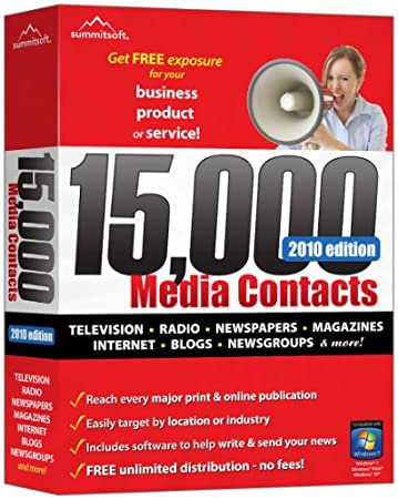 15,000 Media Contacts 2010 Edition
