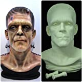 Frankenstein Zombie Bust Life Size Movie Prop Replica Raw Cast Kit by Goodwill Custom made