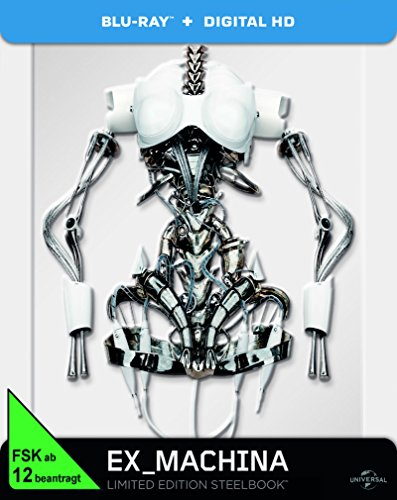 Ex Machina - Limited Edition Steelbook [Blu-ray]