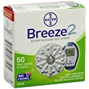 Bayer Breeze 2 Mail Order Test Strips, 50 Count