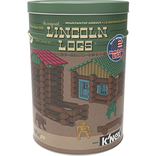 lincoln-logs-mountaintop-hideout-classic-real-wood-building-set-138-pieces-by-lincoln-logs