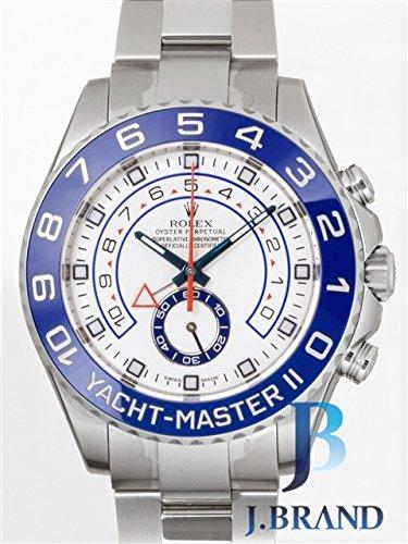 [ロレックス]ROLEX 腕時計 ヨットマスターII ホワイト 116680 メンズ [並行輸入品]