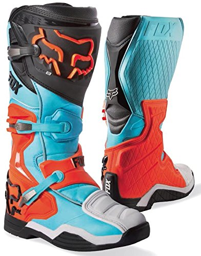 Bottes Motocross Fox 2016 Comp 8 Aqua