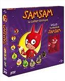 echange, troc SamSam - Le coffret cosmique avec figurine - La grande course de l'espace + Le goûter chez Crapouille + Le géant de March