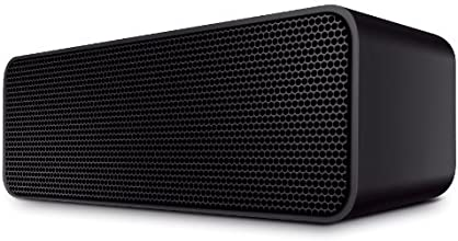 Urban Beatz ROCKBOX Portable Wireless Stereo Bluetooth Speaker with Built in Microphone / Speakerphone & 7 hour Rechargeable Battery (Black)