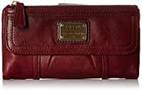 Fossil Emory Zip Wallet, Espresso, One Size from Fossil