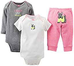 Carter\'s Baby Girls\' 3 Piece \