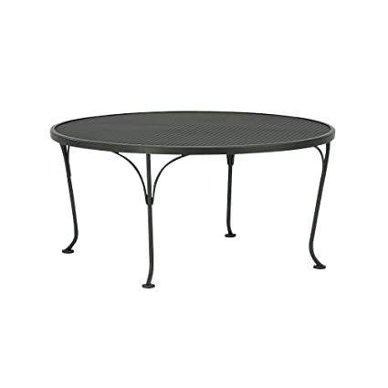 Wrought Iron Coffee Table (Espresso)