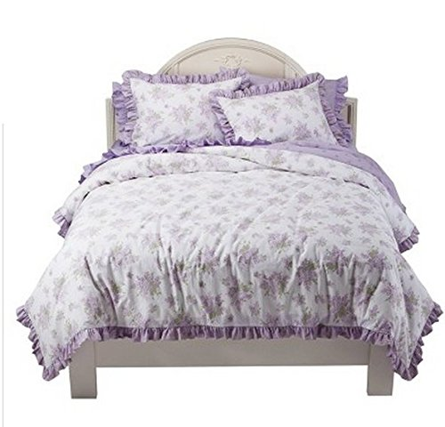 Shabby Chic Pink Bedding 3707 back
