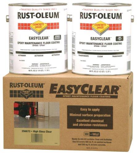 rust-oleum-256673-concrete-saver-easyclear-low-voc-epoxy-maintenance-floor-coating-kit-1-gallon-clea