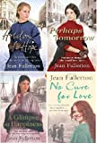 JEAN FULLERTON JEAN FULLERTON FOUR BOOK SET COLLECTION PERHAPS TOMORROW HOLD ON TO HOPE A GLIMPSE AT HAPPINESS NO CURE FOR LOVE