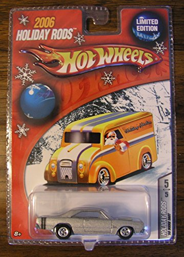 Hot Wheels 2006 Holiday Rods Silver 68 Dodge Dart 5/5