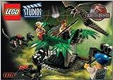 LEGO Studios Set #1370 Jurassic Park 3 Raptor Rumble Studio