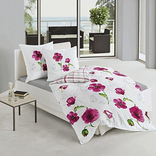 Bierbaum biancheria da letto in raso multicolore - Amazon biancheria letto ...