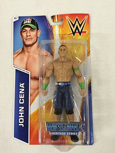 WWE Figure Heritage Series -Superstar #22 John Cena Figure - 1