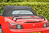 HONDA S2000 BOOT RACK LUGGAGE RACK LUGGAGE CARRIER BLACK