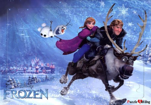 [Toy&puzzle] 40 Pieces Jigsaw Puzzles for Kids Walt Disney 'Frozen - The adventure of Anna'