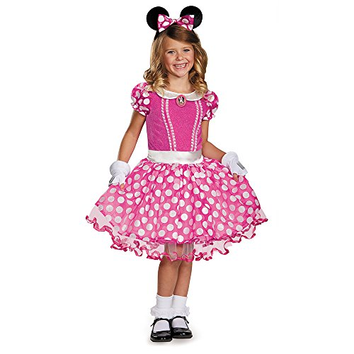 Disguise Disney's Mickey Mouse Clubhouse Pink Minnie Tutu Prestige Girls Costume