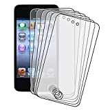 Anti-Glare Screen LCD Film for iPod touch 4G (6 Pack)