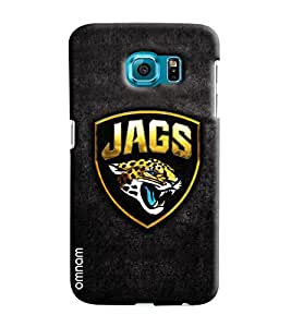 Omnam Jags With Tiger Printed Designer Back Cover Case For Samsung Galxy S6 EDGE Plus