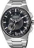 [シチズン]CITIZEN 腕時計 Eco-Drive SATELLITE-WAVE F100 エコ・ドライブ 40タイムゾーン対応 薄型 サテライトウェーブダイレクトフライト針表示式フラグシップモデル 衛星電波受信 マスコミモデル CC2006-53E メンズ