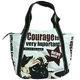《Courage/パグ》エコトートbigバッグ2nd☆マザーズバッグ通販☆