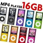 "16GB Slim 1.8"" LCD Music MP3 MP4 4th..."